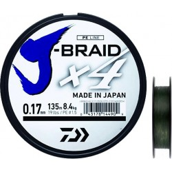 TRESSE JBRAID 4B 300M MULTICOLORE
