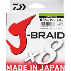 TRESSE JBRAID 8B 500M MULTICOLORE